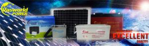 Высокая мощность солнечных батарей свинцово-кислотный аккумулятор батарея 12V 12AH аккумуляторная батарея