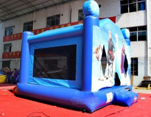Congelado de la casa de rebote de inflables para niños CHB447