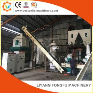 La producción de pellets Pellet biomasa de madera de la línea completa de cascarilla de arroz