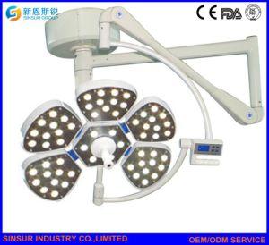 病院装置単一のオーバーヘッド外科LEDの軽い天井の操作ランプ