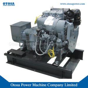 38kVA de diesel die Reeks van de Generator/Genset door Deutz Engine Gekoelde de Lucht wordt aangedreven