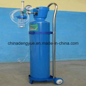 Fabricante profissional de Aço Sem Costura Industrial/Hospital de equipamento médico de cilindros de oxigênio de soldadura