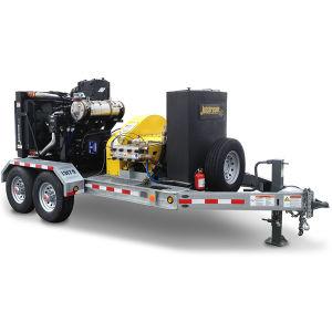 20000psi (1379bars) Unité Diesel Super la rondelle de l'eau haute pression