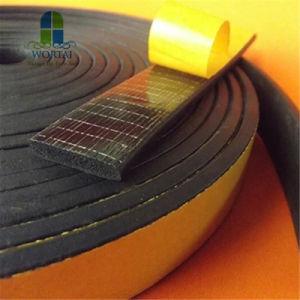 Autoadhesivas ecológicas de espuma de caucho EPDM de suave espuma de caucho de silicona juntas de sellado
