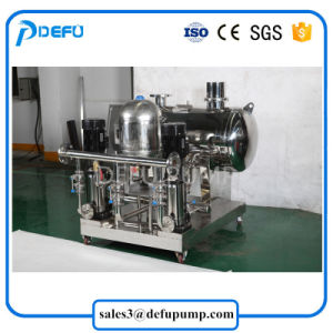 Cdl/Cdlf centrifugas verticales bomba de cebado con el controlador