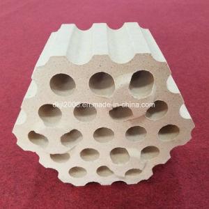 中国の製造者の高いアルミナの処理し難い鋼鉄ひしゃくの内張りれんが