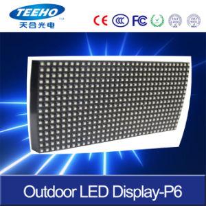 Bon prix pleine couleur Outdoor P6 Afficheur à LED pour la publicité