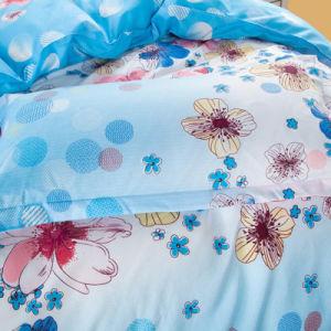 SüdAisia heißes verkaufendes preiswertes 65GSM Microfiber Polyester-kundenspezifisches Bettwäsche-Set