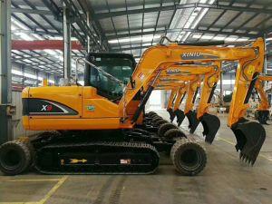 Venta caliente! 9ton X9&excavadora de cadenas de la rueda con exclusivo diseño de patentes