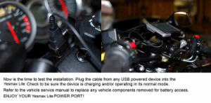 12V два порта USB аренда автомобилей/мотоциклов гнездо прикуривателя адаптера питания зарядного устройства