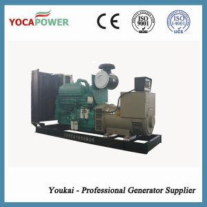 400kw/500kVA diesel die Generator door de Dieselmotor van Cummins wordt aangedreven