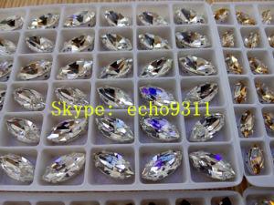 De kleurrijke Vorm van het Oog Rhienstonehorse voor de Decoratie van Juwelen