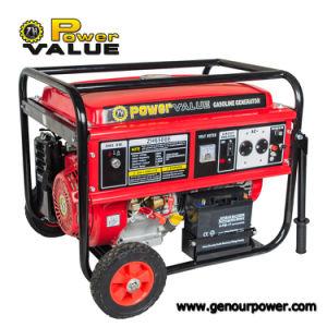 HP 6.5kv Gasoline Generator 6.5kw di Engine 15 della benzina con Key Inizio Handle Wheel