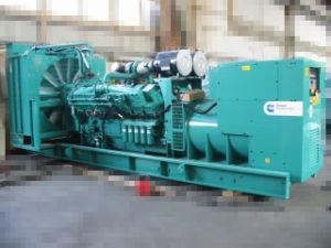 800kw는 Cummins Engine를 가진 유형 전력 디젤 엔진 발전기를 연다
