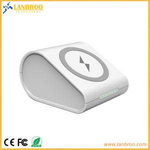 Banco de energía inalámbrica de Energía puerto USB Banco puede cargar con el cable y