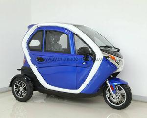 Cabina totalmente cerrada triciclo eléctrico con motor de 1500W