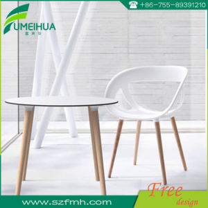 Декоративная пластика Phenolic белый обеденный стол сверху
