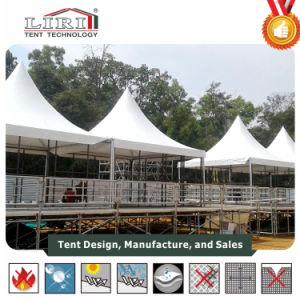 5x5m Pavilion petite pagode Gazebo tente Tente tente de jardin d\'été ...