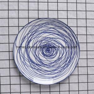 Jeu de la vaisselle en céramique de style occidental avec différentes formes