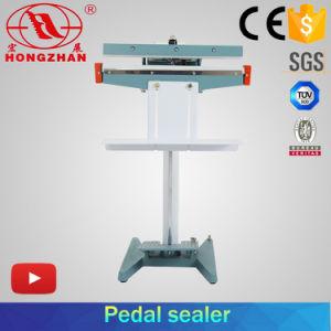 El pedal de pie de la máquina de sellado para bolsa de plástico y embalaje