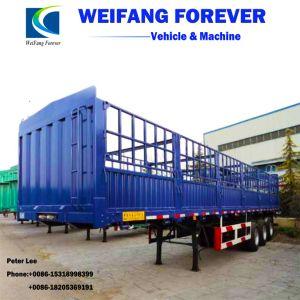容器のトラックのトレーラーを半運ぶ3つの車軸棒または貨物または塀のねじれロック