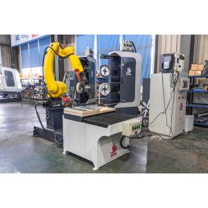 Pulido de robótica de células y sistemas de pulido personalizado Rectificadora de robótica para el desbarbado de piezas de motocicleta, grifo, Castings