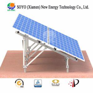 Aleación de aluminio Ground-Based Soporte solar a gran escala de planta de energía fotovoltaica