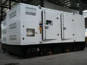 С нами при полной нагрузке двигателя электрический 500квт 625ква бесшумный дизельный генератор