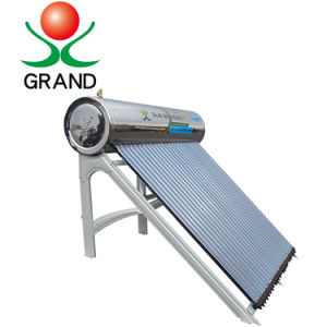Pressurizado compacto sistema de aquecimento de Água Quente Solar