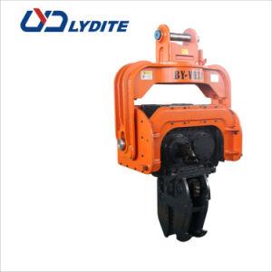 Driver de pilha hidráulico anexo para Escavadoras