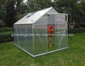 """Estufa Growell Painel em policarbonato de 4 mm a pé em Hobby Garden Emissões (P6), 6"""" x 8"""""""