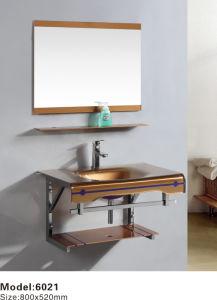 Vidro moderna Lavatório com preço competitivo, qualidade igual