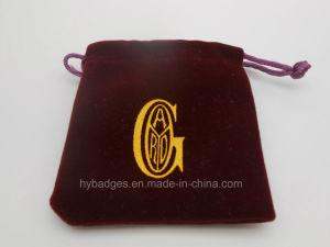 다채로운 작은 우단 주머니, 기념품 선물 부대 (GZHY dB 014)