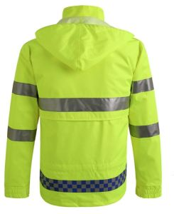 Het waterdichte en In te ademen Hoge Jasje van Workwear van de Veiligheid van het Zicht