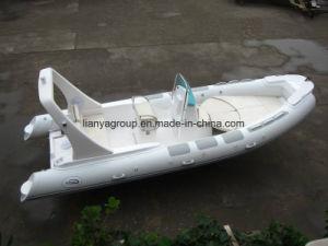 Liya 6.2m 섬유유리 엄밀한 팽창식 어선 중앙 콘솔 배