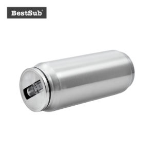 17ozステンレス鋼Cokaはわら(銀)とできる(BCAN17S)