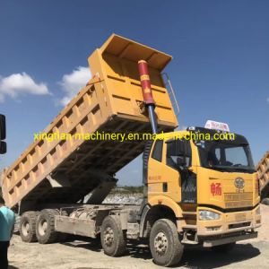 L'extrémité avant du vérin hydraulique utilisé pour camion-benne