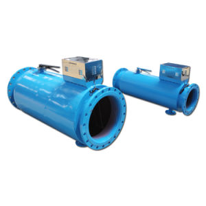 Báscula electrónica dispositivo de tratamiento de aguas duras