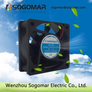 Longue durée de vie ventilateur électrique avec lames en plastique 60*60*25mm