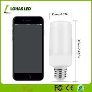 Feira de emulação de LED piscando Lâmpada chama 1800K E26 E12 5W Lâmpada LED LED cor de Incêndio da natureza da lâmpada de chamas