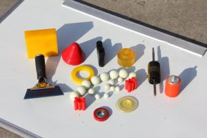 Pièces en uréthane pour la pompe, les rondelles de polyuréthane, Polyuréthane Partie, une partie de moulage en uréthane