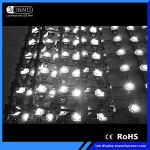 P55mmの高い明るさフルカラーSMD適用範囲が広いLEDのビデオ壁のLED表示