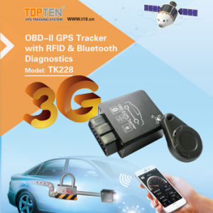 Kleiner GPS-Verfolger G/M mit Endmotor und RFID (TK228-KW)