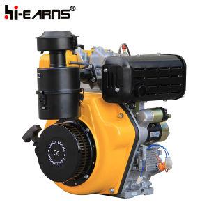 De gele Dieselmotor van de Kleur met de Filter van de Lucht (HR192FB)