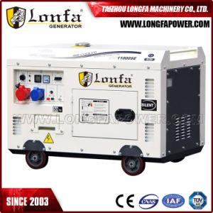 10 kVA insonorizado gerador diesel 100% Gerador silenciosa de cobre