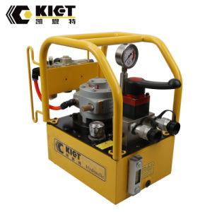 Bomba hidráulica eléctrica para el gato hidráulico del cilindro hidráulico