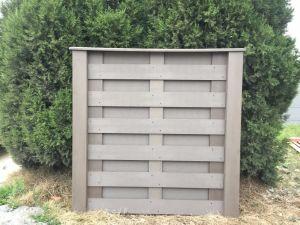 外部セリウムの証明書が付いている私用別荘のためのWPCの熱販売によって容易インストールされる連結の塀