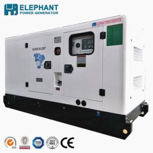 80Ква Китая Шанхае дизельного двигателя Silent тип генератора