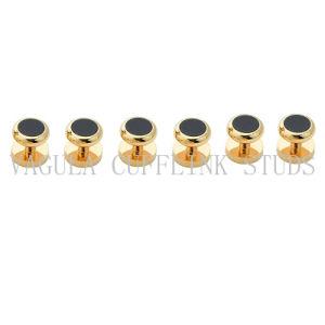Cufflinks van de Smoking van het Onyx van Juwelen VAGULA beslaat 8 PCs Geplaatste Manchetknopen