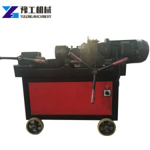 Barres d'armature hydraulique Two-Die Rolling Outil de filetage de la machine avec Chaser